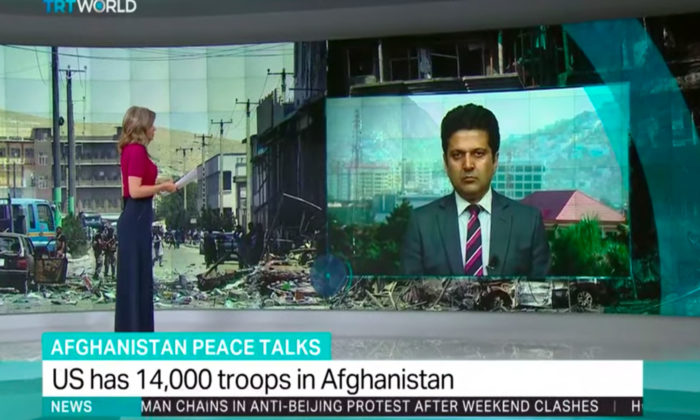 My Interview with TRT World Service on Afghan Peace Talk