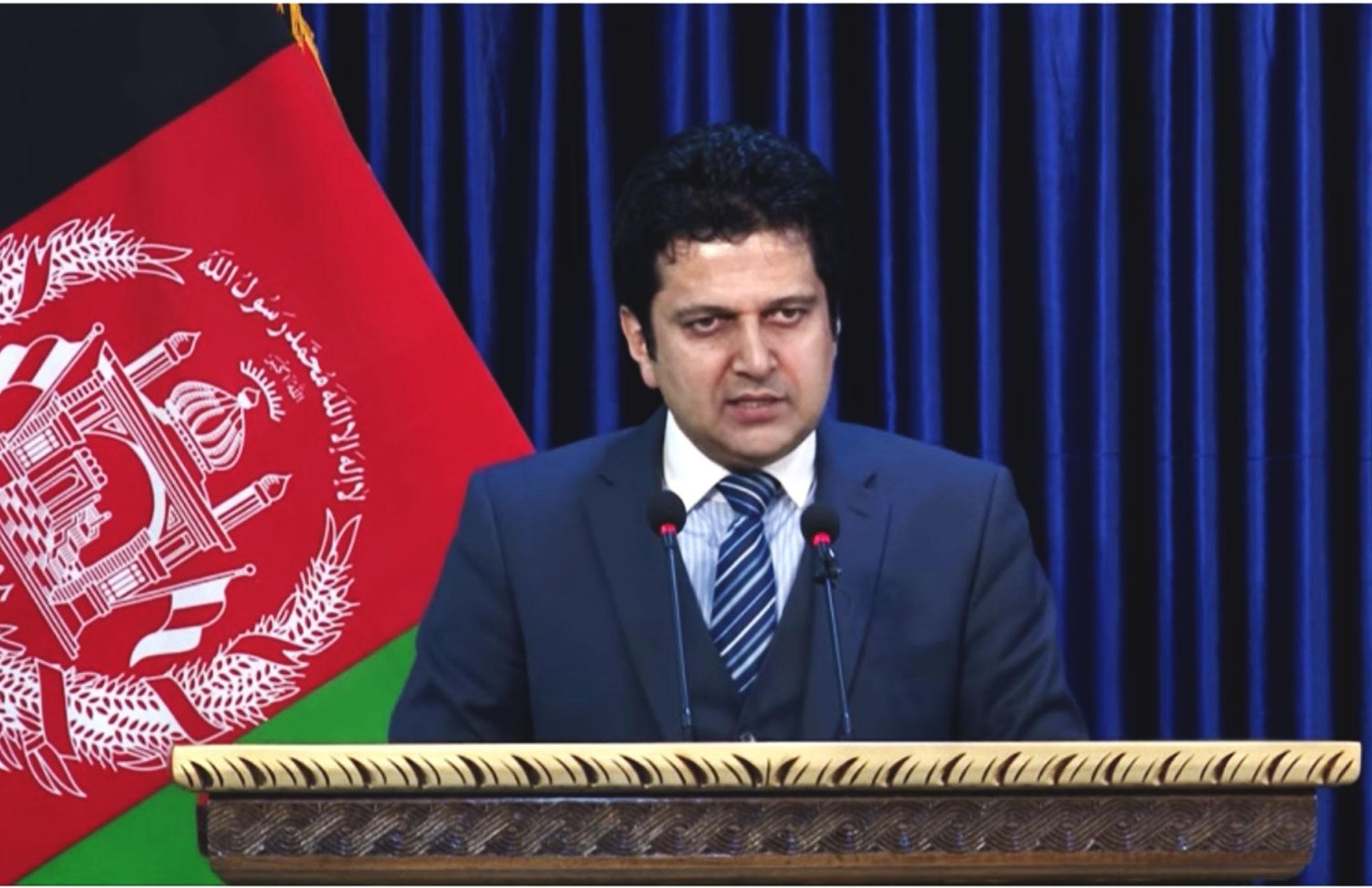 نشست خبری (۲) دکتر مجیب الرحمن رحیمی سخنگوی ریاست اجراییه