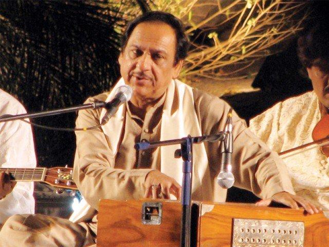استاد غلام علی خان: چپکی چپکی رات دن آنسو بہانا یاد ہے