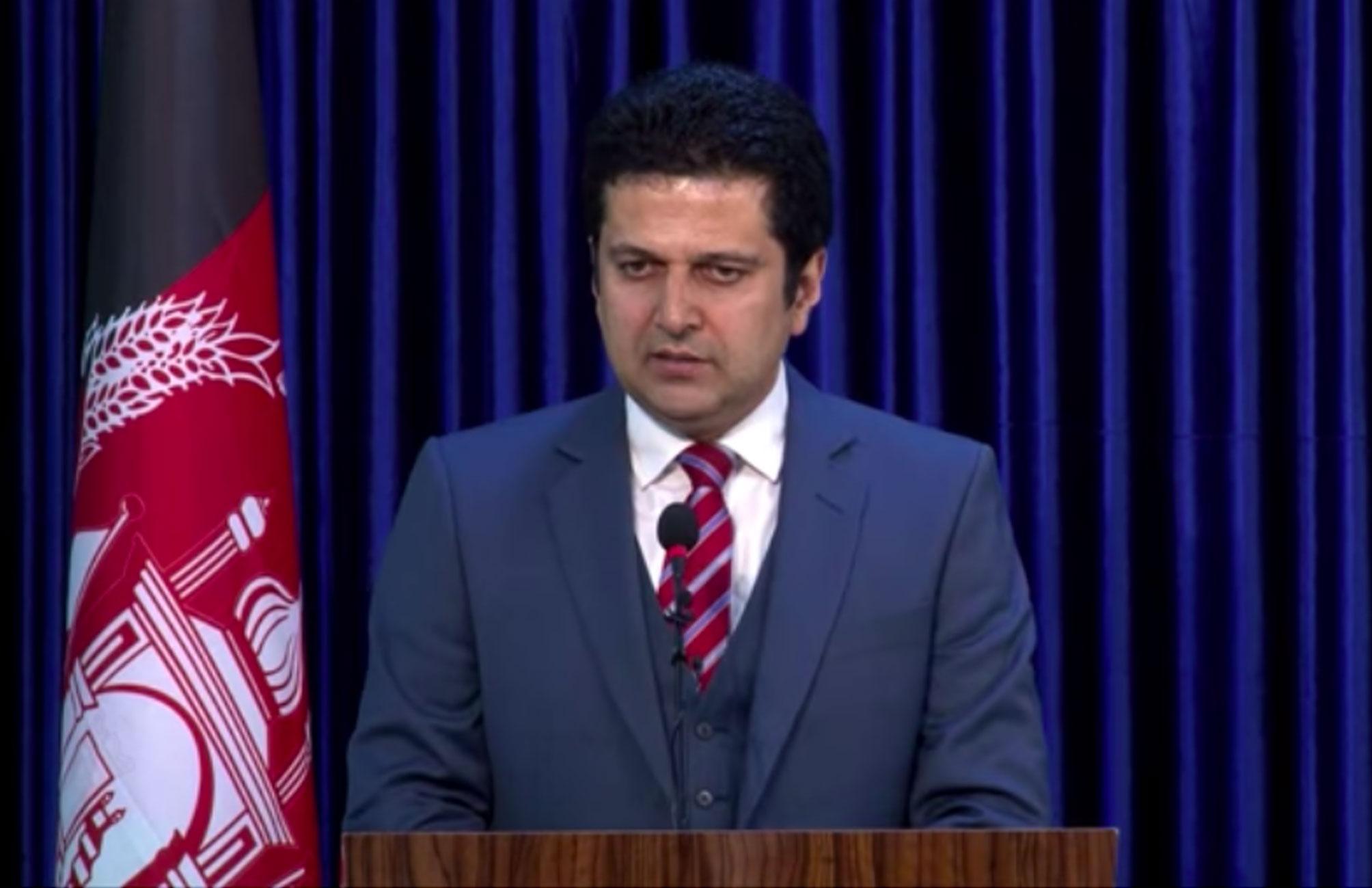 نشست خبری (۵) دکتور مجیب الرحمن رحیمی سخنگوی ریاست اجرائیه