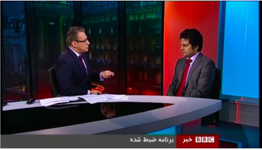 مصاحبه با برنامه ۶۰ دقیقه تلویزیون فارسی بی بی سی: توافقنامه امنیتی میان افغانستان و امریکا